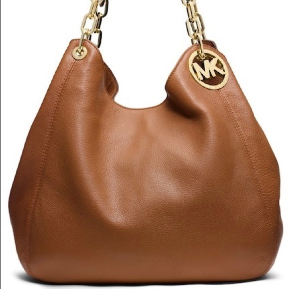 4844391314b7 Michael Kors Large Fulton Leather Tote. M 5b7f288745c8b3d96087ca7d